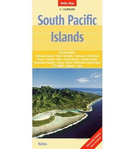 South Pacific Islands - Solomon Islands, New Caledonia, Vanuatu, Fiji, Tonga, Samoa, Niue, Cook Islands, Society Islands, Marquesas Islands, Easter Island,