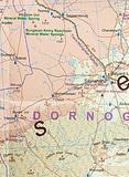 Mongolia - Folded Map