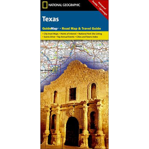 Texas - Road Map & Travel Guide by National Geographic
