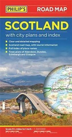 Scotland - Road Map by Philips